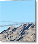 Usaf Thunderbirds Precision Flying Two Metal Print