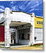 Used Cars Metal Print