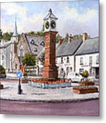 Usk In Bloom Metal Print