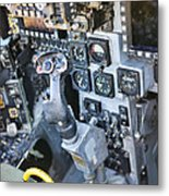 Usmc Av-8b Harrier Cockpit Metal Print