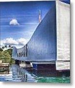 Uss Arizona Memorial- Pearl Harbor Metal Print