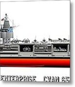 Uss Enterprise Cvn 65 1969 Metal Print