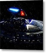 Uss Enterprise Metal Print