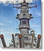 Uss Missouri-pearl Harbor Hawaii Metal Print