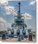 Uss North Carolina Metal Print