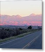 Utah Mountains Metal Print
