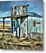 Utah Post Office Metal Print