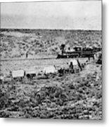 Utah Railroad, 1869 Metal Print