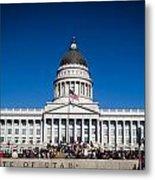 Utah State Capitol Building Metal Print