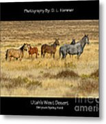 Utah's West Desert Metal Print