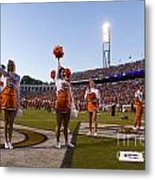 Uva Cheerleaders Metal Print