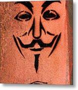 V For Vendetta Metal Print
