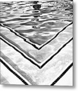 V Shape 2 Palm Springs Metal Print