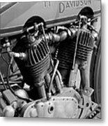 V-twin Engine Metal Print