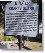 Va-k266 Craney Island Metal Print