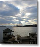 Va March Sunset Metal Print