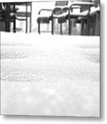 Vacant Out Back Metal Print