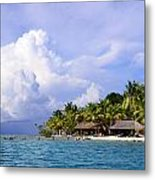 Vacation By The Bay Metal Print by    Michael Glenn