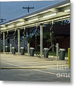 Vacuums At Car Wash Metal Print