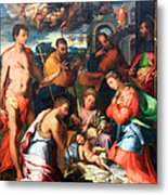 Vaga's The Nativity Metal Print