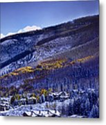 Vail Sunrise Metal Print