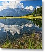 Val Di Sole - Covel Lake Metal Print