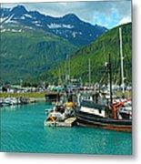 Valdez Harbor Metal Print