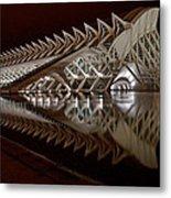Valencia Art And Science Building Metal Print