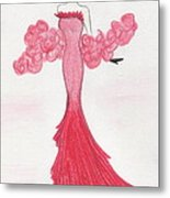 Valentine Red   Metal Print by Christine Corretti