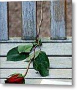 Valentine Rose. Metal Print