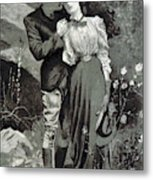 Valentines Day, 1898 Metal Print