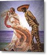 Vallarta Dancers Metal Print