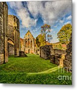 Valle Crucis Abbey Ruins Metal Print