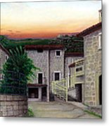Vallecchia De Monte Calvo Metal Print