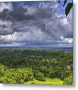 Valley At Chocolate Hills Metal Print