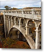 Valley Bridge II Metal Print