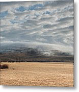 Valley Clouds Metal Print