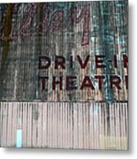 Valley Drive-in Theatre Metal Print