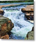 Valley Falls Metal Print
