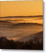 Valley Fog Metal Print