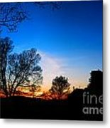Valley Forge Evening  Metal Print