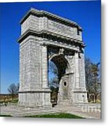 Valley Forge National Memorial Arch Metal Print