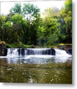 Valley Forge Pa - Valley Creek Waterfall  Metal Print