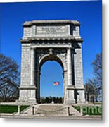 Valley Forge Park Memorial Arch Metal Print