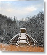 Valley Forge Winter 1 Metal Print