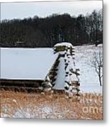 Valley Forge Winter 10 Metal Print