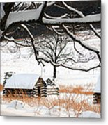 Valley Forge Winter 14 Metal Print