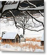 Valley Forge Winter 4 Metal Print