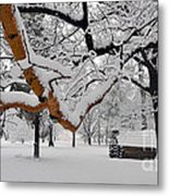 Valley Forge Winter 9817 Metal Print