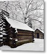 Valley Forge Winter 9887 Metal Print
